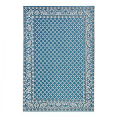 In- & Outdoorteppich Royal - Kunstfaser - Blau - 115 x 165 cm