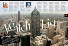 Interesante juego con el titular / Atlanta Business Magazine