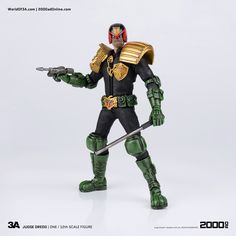 Latest issue of #H3ADLINES is sent out and this time it's all about JUGDE DREDD (which is available right now at Bambaland) and let us give thanks for the LAW! You can find newsletter here: http://us1.campaign-archive1.com/?u=df39a60ebc972356a8428c41e&id=86ac0b9abc&e #threeA #WorldOf3A #WO3A #2000AD #JudgeDredd #Dredd #Lawmaster