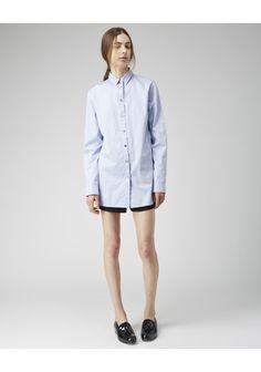 T by Alexander Wang / Cotton Poplin Shirt | La Garconne
