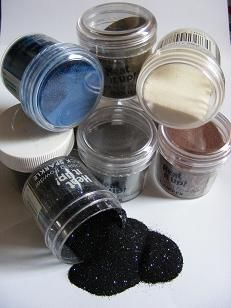 Embossing Powder - Everything you need to know about embossing.