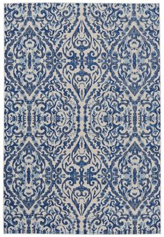 3466F, Royal, Machine Made, Feizy, Damask available from rugsdoneright.com