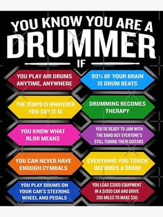 Drummer Humor, Drummer Quotes, Electric Drum Set, Electric Guitars, Drums Sheet, Sheet Music, Learn Drums, Female Drummer, Marching Band Humor