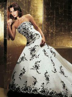 Vestidos+de+Novia+con+Flores+Negras+11.jpg (474×632)