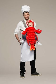 Chef & Lobster Baby Carrier Costume Kit: #Chasingfireflies $59.00