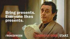 The Wisdom of Mr. Wednesday American Gods