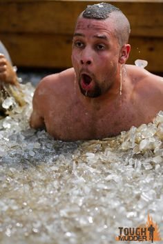 Not looking forward to this. The Arctic Enema. lbs of ice! Tough Mudder, Arctic, Summer Fun, Challenges, Ice, Exercise, Fitness, Ejercicio, Excercise