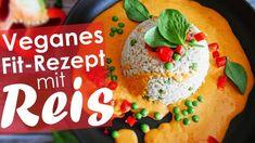 Erbsen-Reis mit Paprika-Cashew Sauce - Vegan - Rezept von Yasty Chef Chef, Risotto, Tacos, Mexican, Ethnic Recipes, Fitness, Food, Vegan Main Dishes, Turmeric