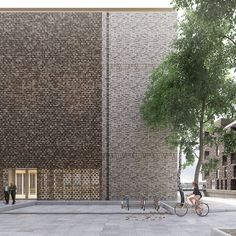 luca poian forms proposes a brick-clad church in sydhavnen