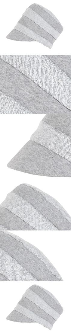 Tidecloth Women's Adjustable Cuff Round Crown Casual Casual Beret Hat Gray One Size