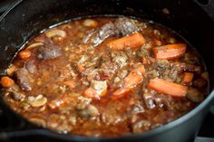 Oxtail Potjie – Insanely good South African oxtail stew | Maison Travers South African Oxtail Recipe, South African Recipes, Indian Food Recipes, Ethnic Recipes, Oxtail Recipes, Jamaican Recipes, Curry Recipes, African Stew, Oxtail Stew