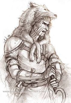 Red Rising - Sevro sketch by Lehanan.deviantart.com on @DeviantArt