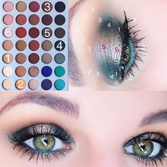 Today's look Morphe Brushes X Jackie Hill Eyeshadow Palette Silk Creme- all over base Creamscicle- applied to the crease and blend… Eye Makeup Steps, Smokey Eye Makeup, Skin Makeup, Eyeshadow Makeup, Glitter Eyeshadow, Neutral Eyeshadow, Makeup Brushes, 80s Makeup, Girls Makeup