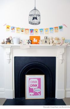 10 Nice Kids Room Designs With A Fireplace | Kidsomania