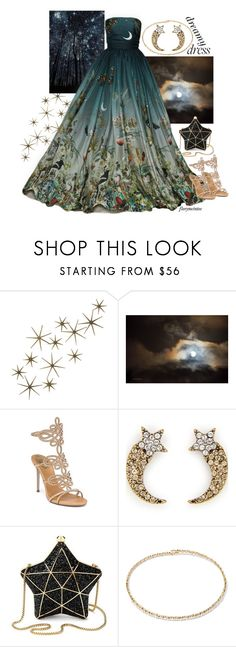 """""""Dreamy Dress #2"""" by florymcintee ❤ liked on Polyvore featuring Global Views, Dennis Basso, René Caovilla, Marc Jacobs, Aspinal of London and Suzanne Kalan"""