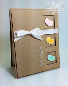 Jelly Bean Baby Card by Julie DiMatteo