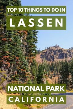 10 Things to do in Lassen National Park, California Top 10 Things to do in Lassen National Park, California. Article by Top 10 Things to do in Lassen National Park, California. Article by Top 10 National Parks, California National Parks, Eureka California, Visit California, Northern California Travel, California Vacation, New Orleans, New York, Nationalparks Usa