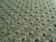 crochet blanket patterns   CROCHET SHELL STITCH PATTERN   CROCHET PATTERNS