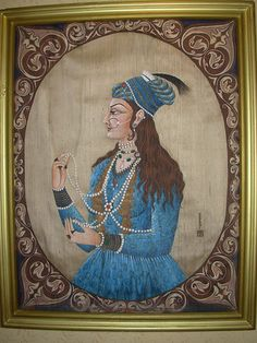 Noor Jehan - the most powerful Mughal Queen , wife of Jahangir.