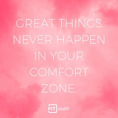 Shop our range of protein supplements and clothing. Monday Motivation, Fitness Motivation, Office Quotes, Protein Supplements, Comfort Zone, Challenges, Inspirational, Range, Sayings