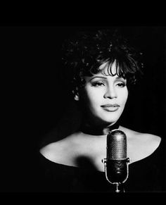 The late great Whitney Houston