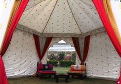 Bride Groom Tent