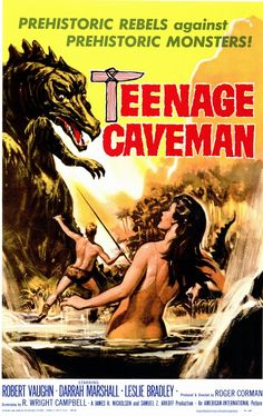 1958 Movie Posters | Teenage Caveman Movie Posters From Movie Poster Shop