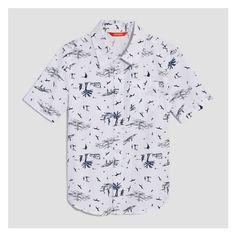 Kid Boys  Short Sleeve Shirt from Joe Fresh. This short sleeve button-up a1e03920a0df4