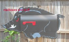 Offering a variety of novelty Pig Mailboxes that can be painted in your choice of colors! Pigs DO Fly at Mailboxes and Stuff Mailbox Ideas, Pig Stuff, Mail Boxes, Pig Farming, Games Box, Flying Pig, Garden Gates, Pigs, Doors