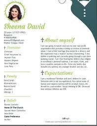 sample biodata for marriage in word format
