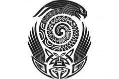 Maori tattoo patterns (5x) by Artefy's Graphic Bar on Creative Market