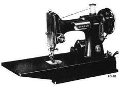 Singer Model 221 - Featherweight Sewing Machine Site has all kinds of information on sewing machines.  Great resource about antique machines.