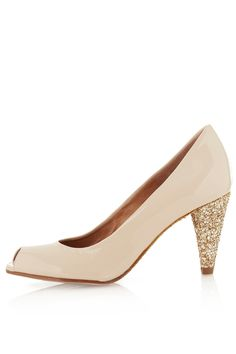 JOLLIE Glitter Sole Heels - View All - Shoes - Topshop USA