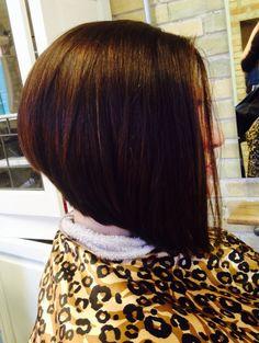 Angled Bob #hairbycassierizzi #bellaamicisalon #traversecitymi