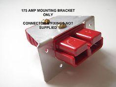 ANDERSON-DURITE-REMA-PLUG-SB-175-AMP-FLUSH-PANEL-MOUNTING-BRACKET-CONNECTOR