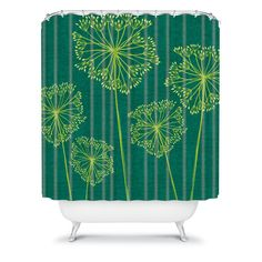 Caroline Okun Hemlock Shower Curtain