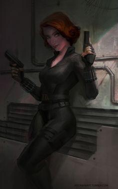 Black Widow by Jason Kim