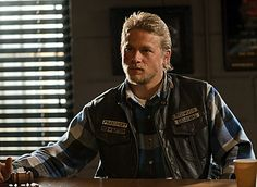 "Jax (Charlie Hunnam) is now the president -- you can see the patch on his vest -- but the old adage ""uneasy lies the head that wears the crown"" definitely applies on ""Sons of Anarchy"" this season."