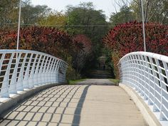 Old Plank Road Trail over US 45 by John Junker4853, via Flickr                                                                                                            Old Plank Road Trail over US 45             by        John Junker4853      on   ..