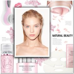 #279) SKIN BEAUTY CARE by fashion-unit on Polyvore featuring beauty, Shiseido, Lancôme, Bliss, Conair and Versace