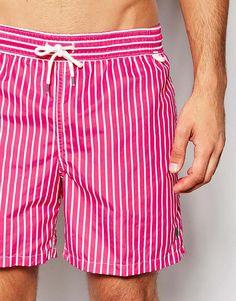 7d5a498cb6b9e Image 3 of Polo Ralph Lauren Traveller Stripe Swim Shorts Men Swimwear, Swim  Shorts,
