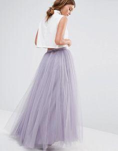 Asos Little Mistress Maxi Tulle Skirt // Bridesmaid Alternative Look