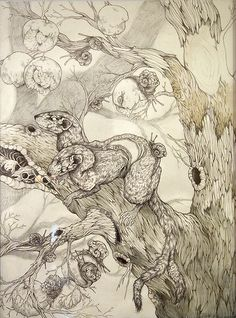 "Caitlin Hackett - ""A Tiny Reminder"" (right panel) by Art Anagnorisis, via Flickr"