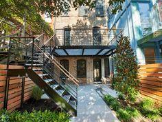 Brownstone Exterior Back Yard 174 Garfield Place Brooklyn NY