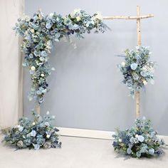 Decoration Photo, Arch Decoration, Backdrop Decorations, Bridal Shower Decorations, Flower Wall Wedding, Wedding Ceremony Flowers, Floral Wedding, Arch Wedding, Garden Wedding