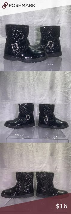 I just added this listing on Poshmark: Girls Primigi Boot -Black Pat- size 26 EU/US 9. #shopmycloset #poshmark #fashion #shopping #style #forsale #Primigi #Other Little Girl Boots, Baby Girl Boots, Toddler Winter Boots, Gore Tex Boots, Snake Print Boots, Suede Chukka Boots, Tall Riding Boots, Purple Suede, Black Rhinestone
