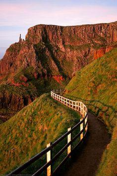 Coastal Walk around the Giant's Causeway, Bushmills, County Antrim, Northern Ireland by Fragga on Flickr.