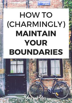 Do you want to maintain boundaries better? Not say 'yes' when you mean to say 'no'? This phrase will help you maintain your boundaries! E-mail Marketing, Content Marketing, Self Development, Personal Development, Confidence Tips, Learning To Say No, Positive Living, Life Advice, Life Tips