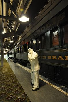 I always thought it'd be fun to stay in one of the train car hotel rooms at Union Station in Indianapolis