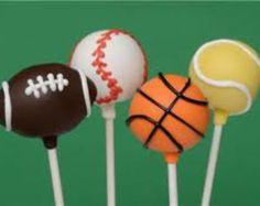 Sports Cake Pops (1 Dozen)